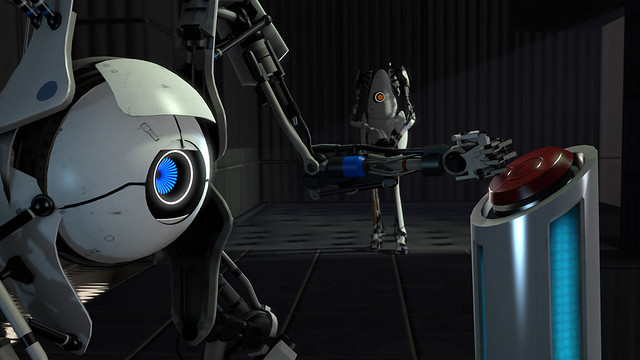 Portal 2 robots co-operative mode