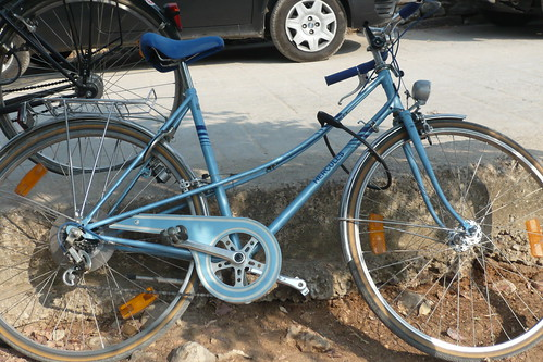 Classic Hercules commuter bicycle