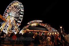 Night Midway Rides