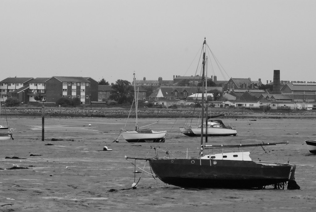 Boats at Eastney