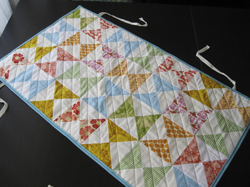 I need to keep practicing my quilting....