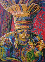 ndio do Xingu -  XXII  Amaznia (Elvis da Silva Artista Plstico) Tags: elvis e da plastico cultura silva pelo artista indigena ndios blackculture oartistaplsticoelvisdasilvaesuaspinturassobreaamazniaamazonaculturaindinaeaculturanegraind