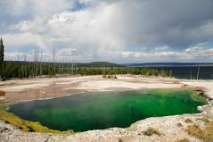 West Thumb Basin, Yellowstone