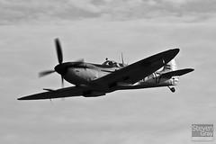 PH-OUQ - MK732 - CBAF.IX.1732 - Stichting Koninklije Luchtmacht Historische Vlucht - Supermarine 361 Spitfire LF9  - Duxford - 100905 - Steven Gray - IMG_8494