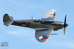 PH-OUQ - MK732 - CBAF.IX.1732 - Stichting Koninklije Luchtmacht Historische Vlucht - Supermarine 361 Spitfire LF9  - Duxford - 100905 - Steven Gray - IMG_8472