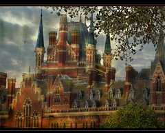 Spires of St Pancras II (Chariots_of_Artists) Tags: building london architecture spires 1001nights kingscrossstpancras 1001nightsmagiccity mygearandme mygearandmepremium mygearandmebronze mygearandmesilver mygearandmegold mygearandmeplatinum mygearandmediamond