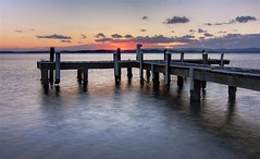 Squids Ink 7th September 2010 3. (archie0) Tags: sunset jetty lakemacquarie squidsink