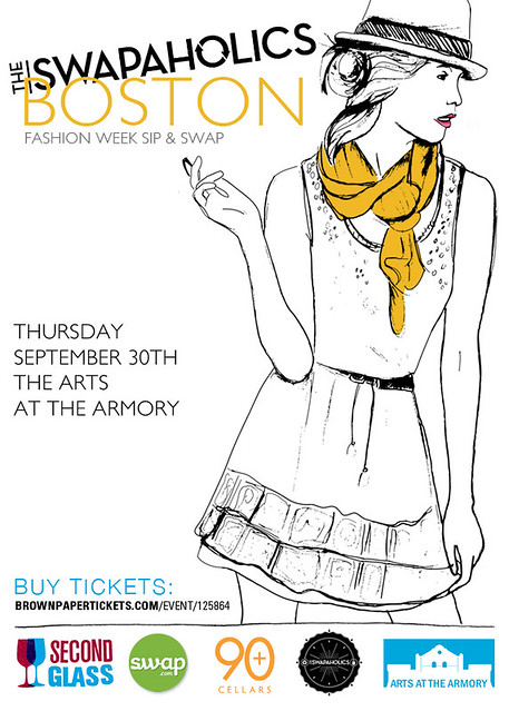 Boston Fashion Week Swap Invite