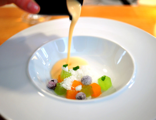 6th Course: Charentais Melon Cream