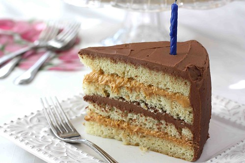 Chocolate & Dulce de Leche Birthday Cake Recipe - Cookin Canuck