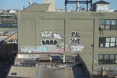 Kid PK (break.things) Tags: nyc newyorkcity ny newyork ski graffiti kid ar queens if pk lb dart trap kaer fms taek arone ezaf jab357