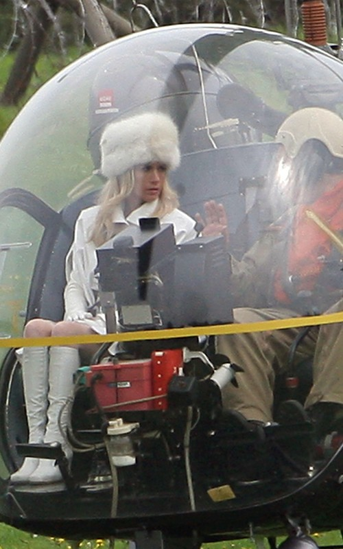 X-Men First Class Emma Frost helicopter