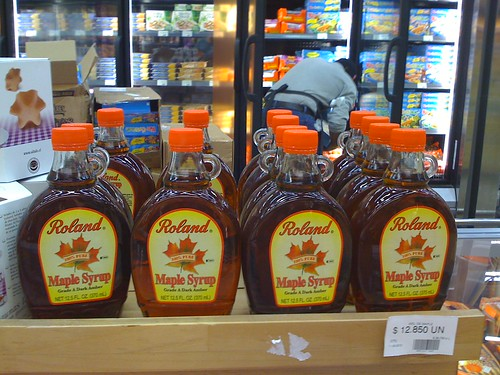 Shangri-La maple syrup