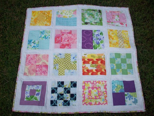 My pieced together quilt