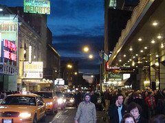 March 31: Broadway Sunset