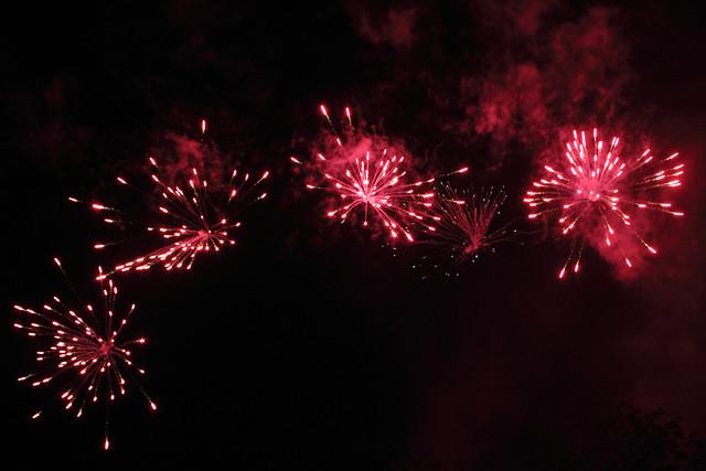 Vuurwerk Leuven kermis 2010