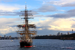 The tall ship James Craig (1874) (CarlosSilvestre62) Tags: sydney tallship barque jamescraig carlossilvestre62