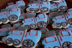 Train Cookies for Damian.