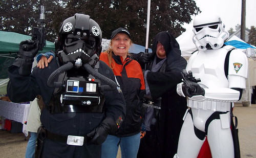 Stormtroopers and mom