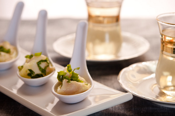 Ceviche with coconut dressing