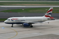 British Airways G-EUPP (Howard_Pulling) Tags: germany airplane deutschland airport aircraft aeroplane german nrw ba flughafen dusseldorf dsseldorf britishairways a319 flug dus dsseldorfairport flughafendsseldorf geupp