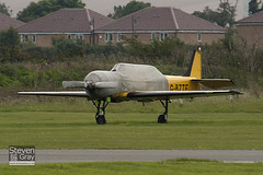 G-BZTF - 866703 - Private - Bacau Yak-52 (Yakovlev) - Duxford - 100905 - Steven Gray - IMG_5848