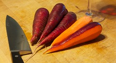 241/365: Red Carrots