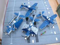 USS Intrepid Bow sections 7 (Lego Monster) Tags: ship lego wip aircraftcarrier 1945 usnavy carrier worldwar2 ussintrepid essexclass