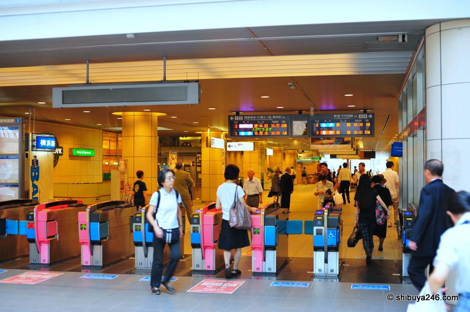 Odakyu Line at Seijogakuenmae Station