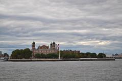 DSC_0147 (Kelly Schott) Tags: ocean sky newyork water boats bay harbor pier boat newjersey ship flag patriotic american statueofliberty ellisisland