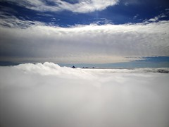 Looking South Above The Clouds