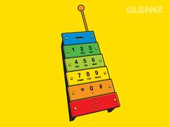 Xylophone (Glennz Tees) Tags: art nerd fashion illustration design funny geek drawing humor cartoon tshirt illustrator draw popculture tee vector ai apparel adobeillustrator glenz glennjones glenjones glennz gleenz glennnz