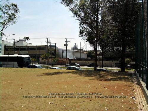 Queimada em tempo seco - Jaguare SP (13/09/2010)
