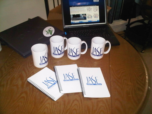 JASE Coffee Mugs & Notebooks