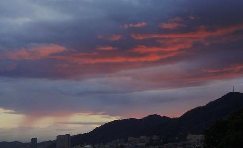 A Kobe sunset