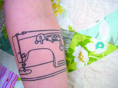 sewing machine tattoo 7