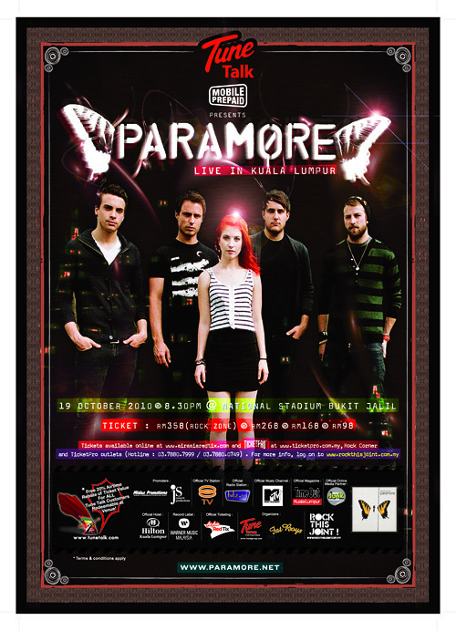 Paramore Concert Live in Bukit Jalil