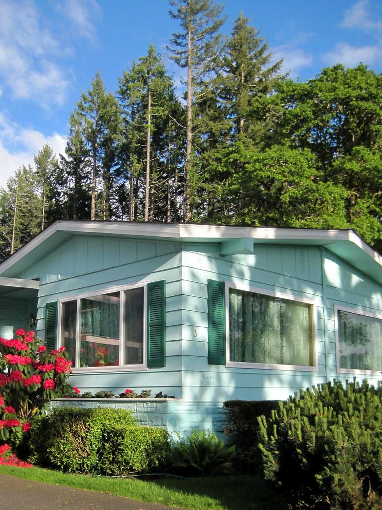 Mobile Home Park Shalimar Homes Treeline