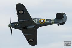 G-HHII - BE505 - CCF R20023 - Hanger 11 - Hawker Hurricane Mk2B - Duxford - 100905 - Steven Gray - IMG_7415