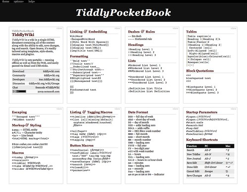 TiddlyPocketBook.com