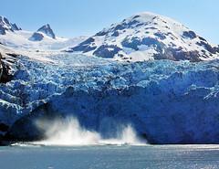 Alaska Glacier Ice Calving (JimBoots) Tags: alaska 2006 princewilliamsound