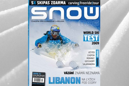 SNOW 51 + 5X SKIPAS ZDARMA + test lyží World Ski Test