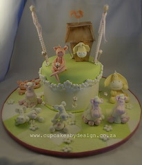 Forgotten Farm Yard Cake!! (Dot Klerck....) Tags: barn southafrica pig cow cupcakes sheep capetown dot daisy farmyard donley cupcakesbydesign