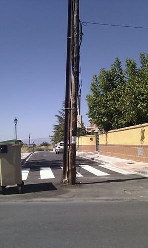 Las calles en Ogíjares