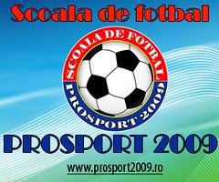 Scoala de fotbal Prosport 2009