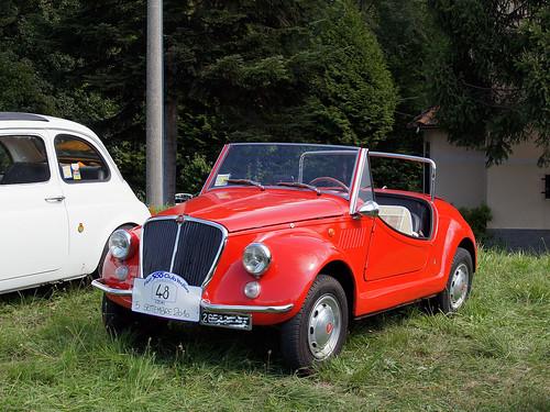 Fiat 500 Spider Vignale