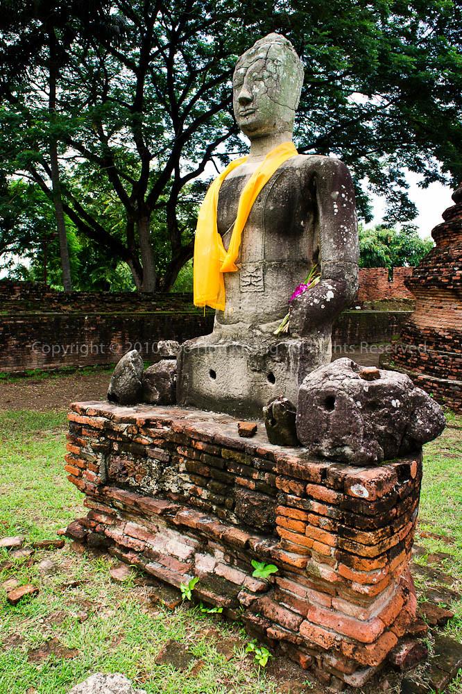 Buddha @ Wat Phrasisanpeth, Ayutthaya, Thailand
