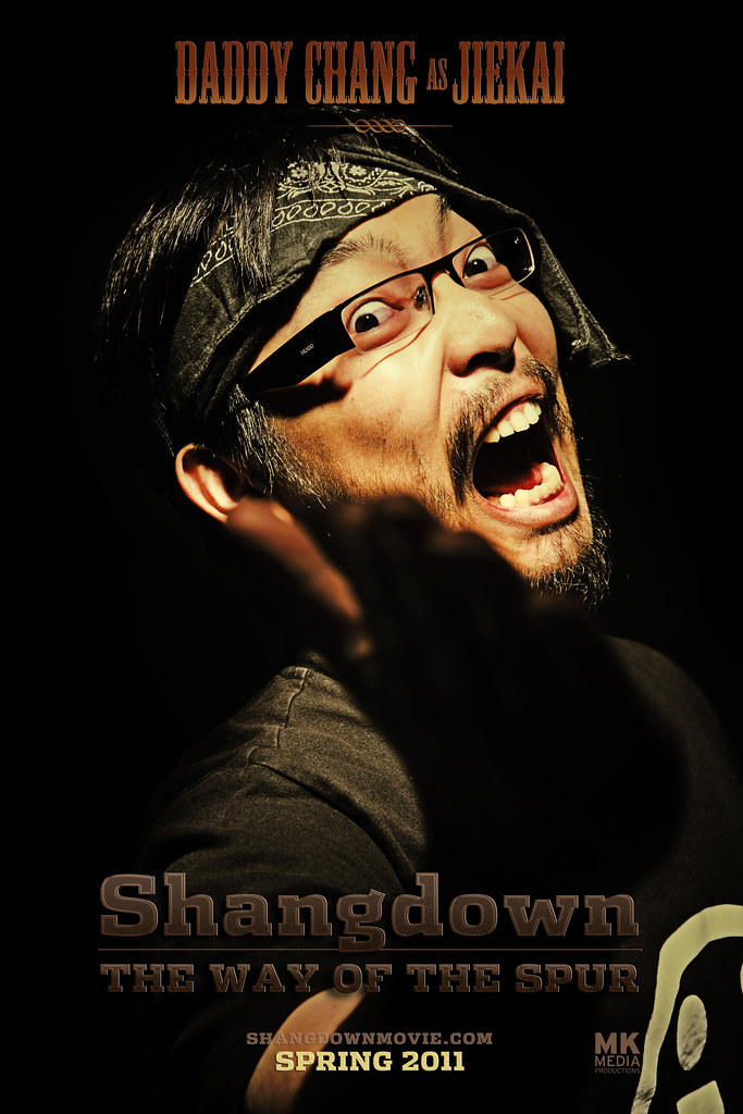 SHANGDOWN: THE WAY OF THE SPUR - Character Poster Jiekai