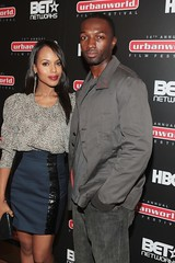 Kerry Washington and Jamie Hector