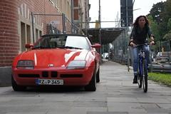BMW Z1 (individual8) Tags: bike germany scaffolding hamburg september sidewalk bmw z1 2010
